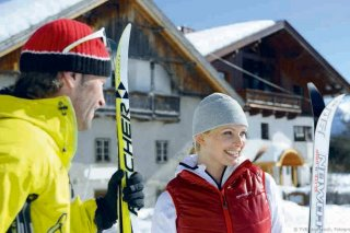 Cross-country skiing paradise Natters-Mutters